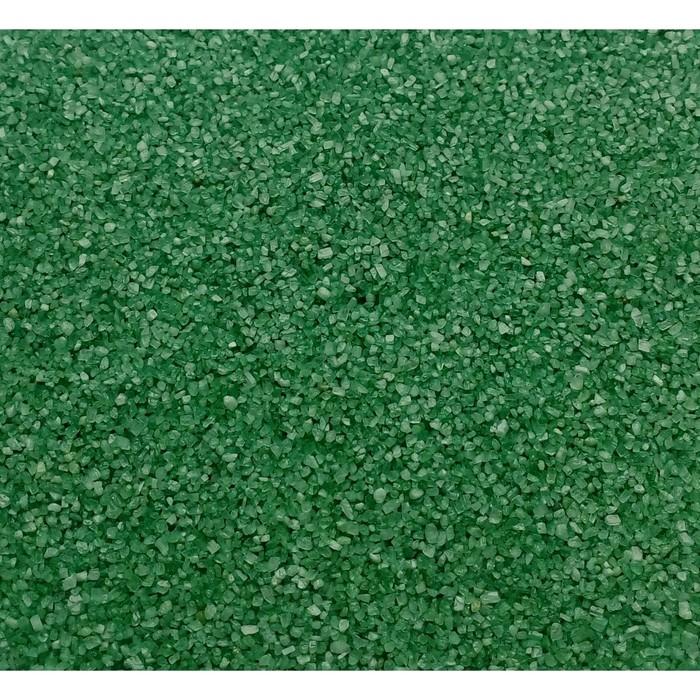 """Песок цветной, """"салатово-зеленый"""", 1 кг"""