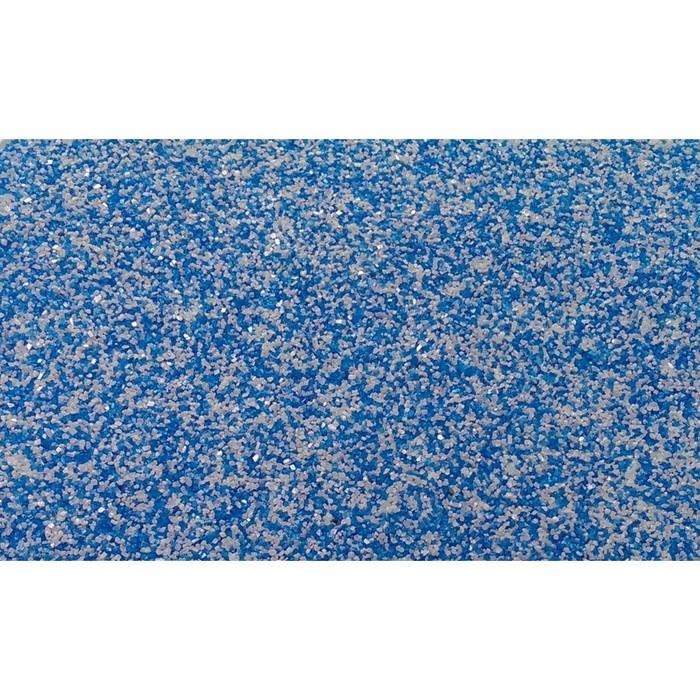 """Песок цветной, """"бело-голубой"""", 1 кг"""