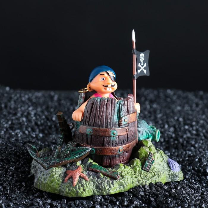 """Распылитель подвижный """"Пират в бочонке"""""""