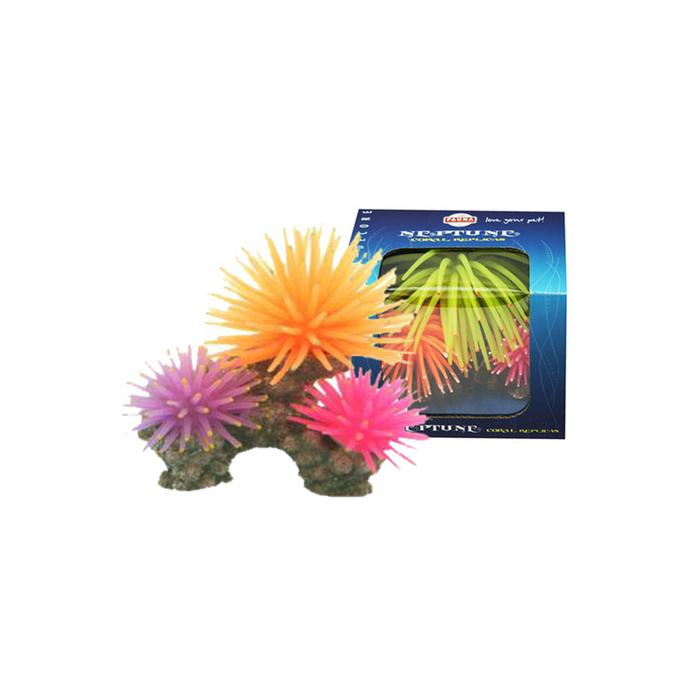 "Декорация Fauna INT ""Кораллы"", 10х6х8см, оранж/розов/фиолетовый"