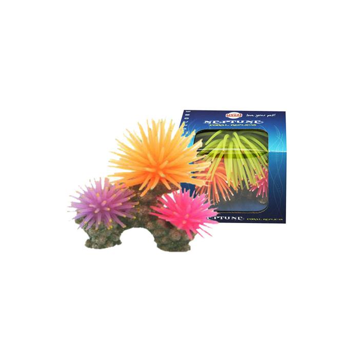 "Декорация Fauna INT ""Кораллы"", 10х6х8см, розовый/оранж/зеленый"