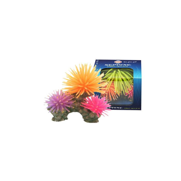 "Декорация Fauna INT ""Кораллы"", 10х6х8см, синий/желтый/фиолетовый"