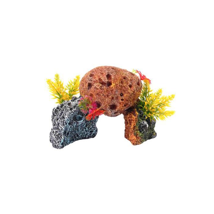 "Декорация Fauna INT ""Кораллы"", 17,2х10,2х12см пластик"