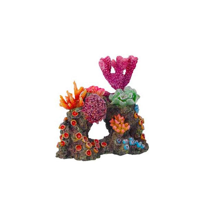 """Декорация Fauna INT """"Кораллы на рифе"""",  16х11х16см"""