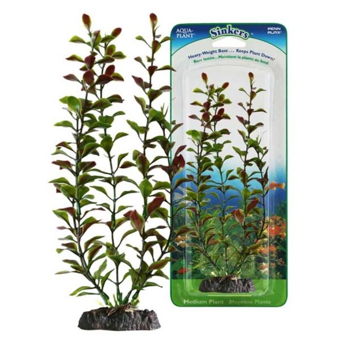 Растение PENN-PLAX RED BLOOMING LUDWIGIA, 34см, с грузом