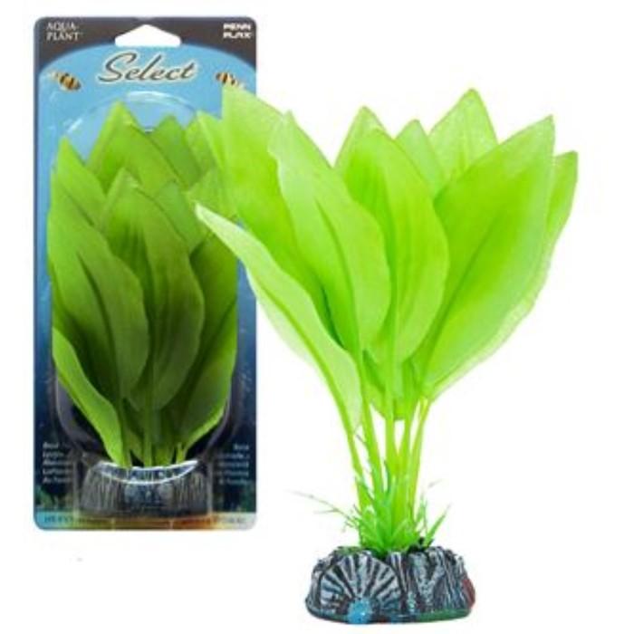 Растение PENN-PLAX AMAZON SWORD, 12см, шелковое, зеленое