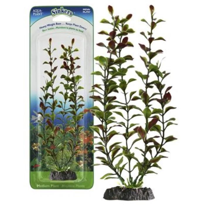 Растение PENN-PLAX RED BLOOMING LUDWIGIA, 55см, с грузом