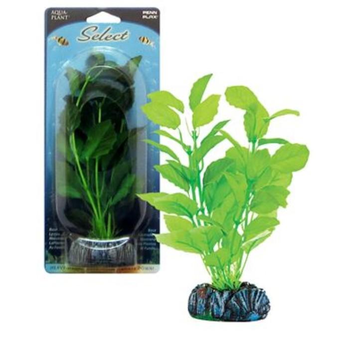 Растение PENN-PLAX ROTALA SERRATE 19см, шелковое, темно-зеленое