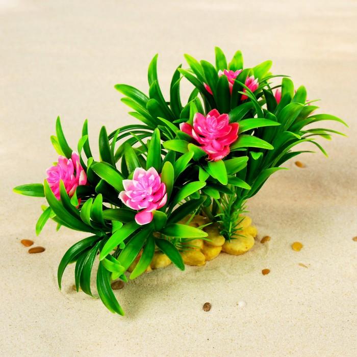 Растение искусственное аквариумное, 20 х 12 х 11 см
