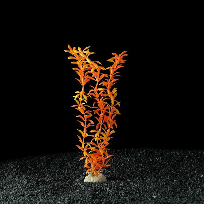 Растение искусственное аквариумное, до 30 см