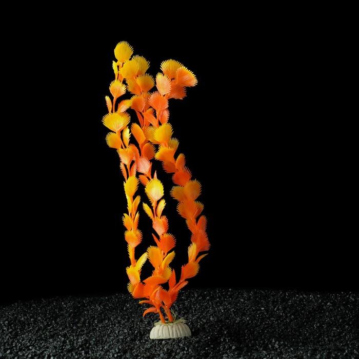 Растение искусственное аквариумное, до 35 см