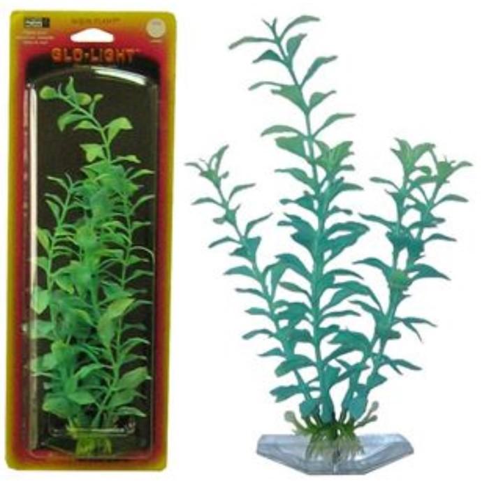 Растение PENN-PLAX BLOOMING LUDWIGIA, 18см, сине-зеленое, светящееся