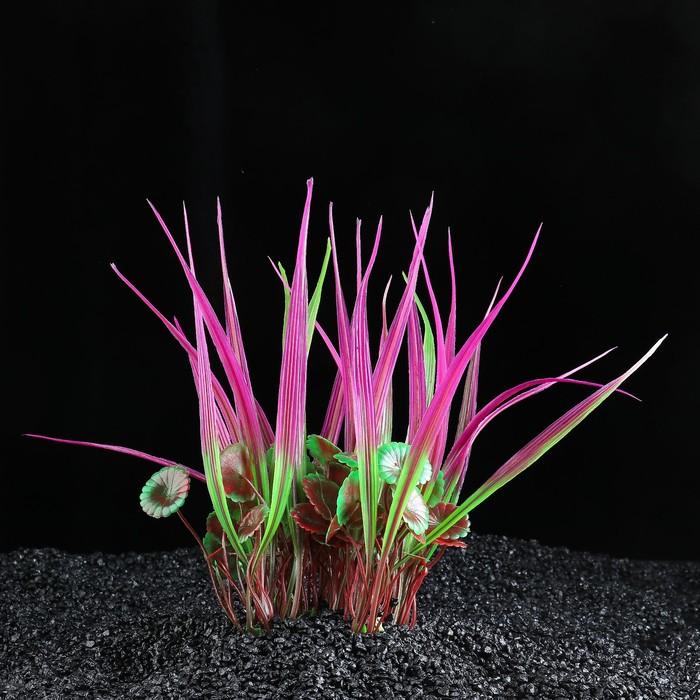 Растение искусственное аквариумное, 16х 9 х 20 см