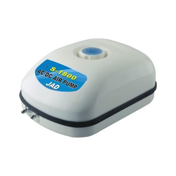 Аквариумный компрессор BOYU, с аккумулятором, 10вт,2*4л/мин