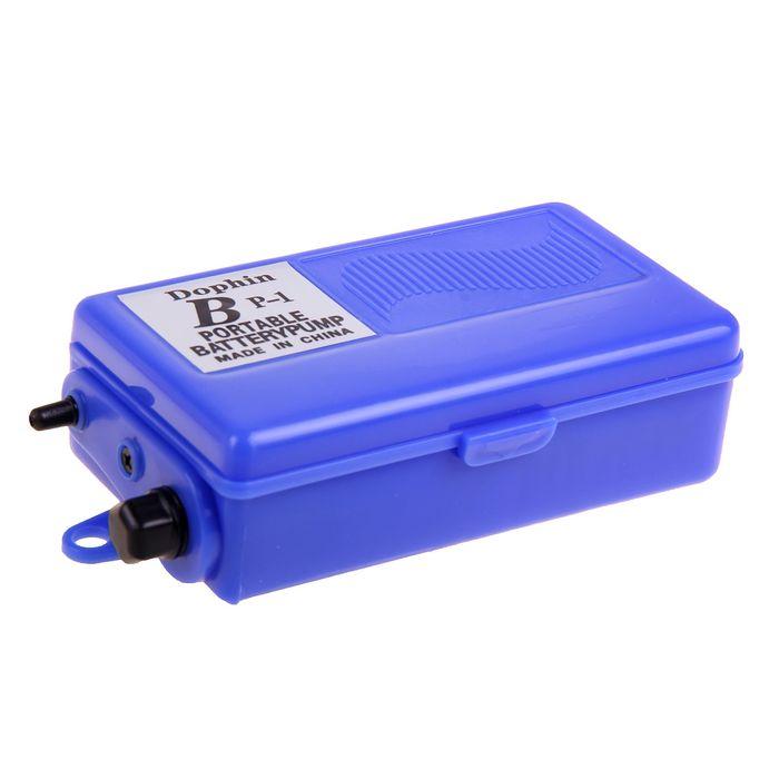 Компрессор аквариумный на батарейках, 1,5 Вольт,0.4л/мин, BP-1(KW)