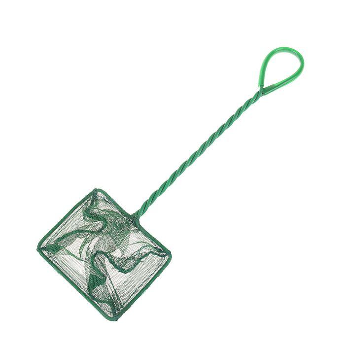 Сачок для рыб зелёный Aleas 10 см
