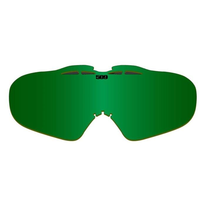 Линза 509 Sinister, взрослые, зеленый, желтый