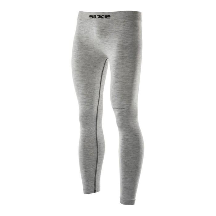 Термоштаны SIXS PNX MERINOS Wool, размер S-M, серый