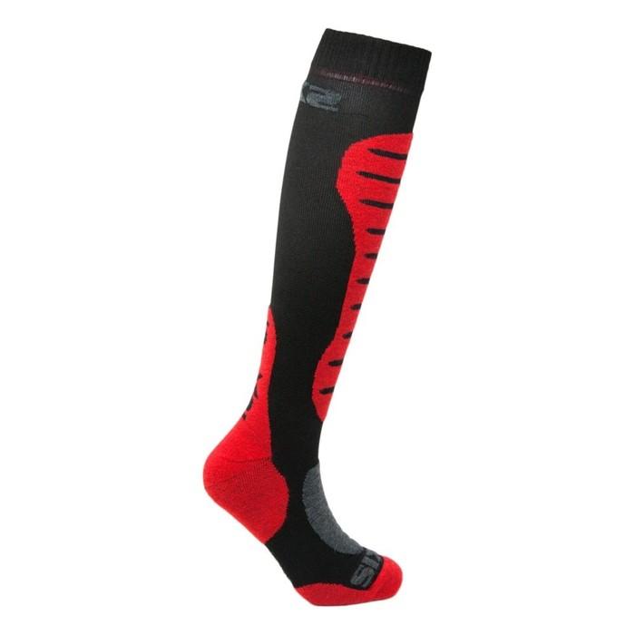 Гольфы SIXS MOT S MERINOS Wool, размер 43-46, красный, чёрный