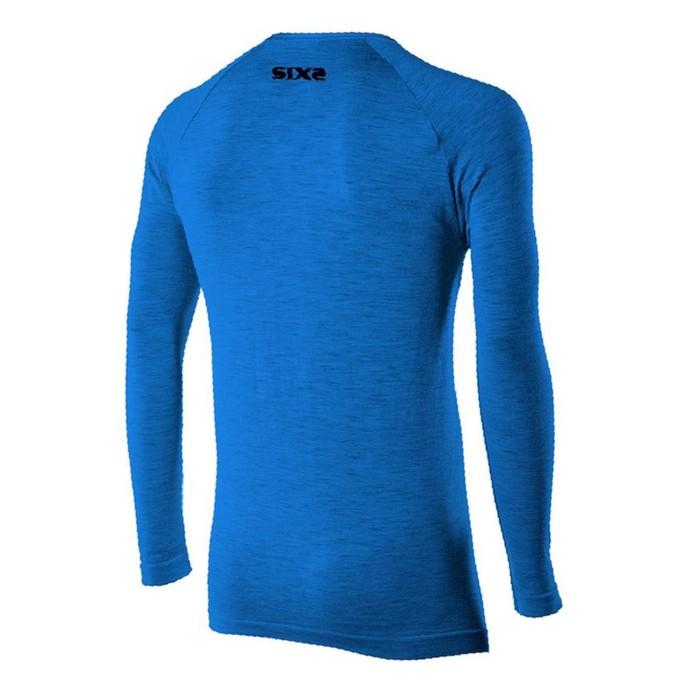 Термокофта SIXS TS2 MERINOS Wool, размер L-XL, синий