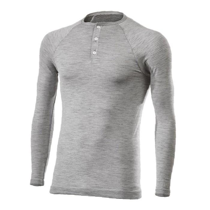 Термокофта SIXS SERAFINO MERINOS Wool, размер L-XL, серый