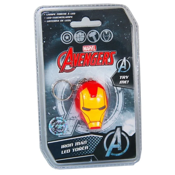 Брелок-фонарик Good Loot Marvel Avengers Iron Man