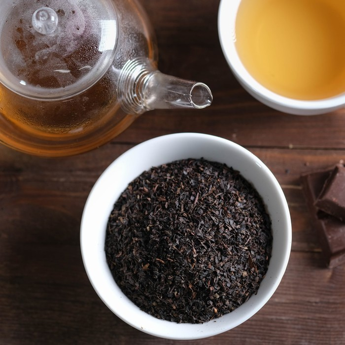 """Набор чай чёрный и кружка """"С новым годом"""", 100 г"""