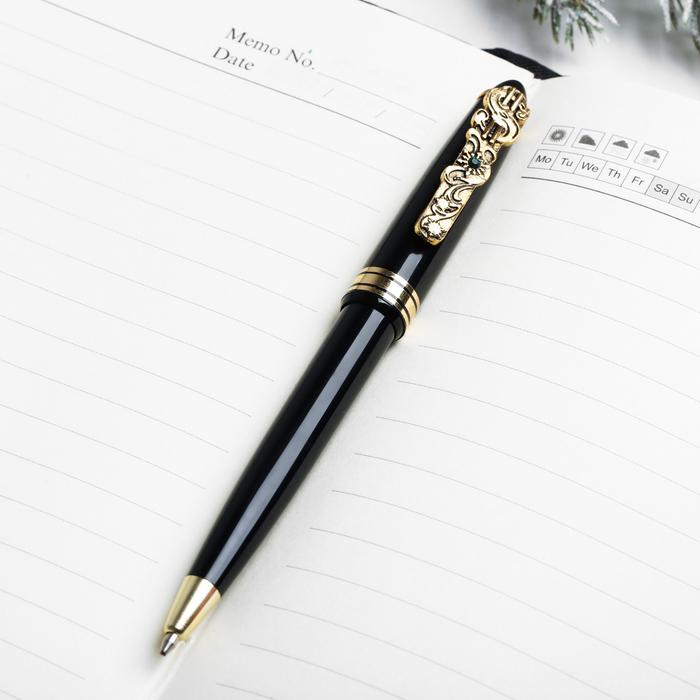 Набор «С Новым годом»: ежедневник, ручка с клипом