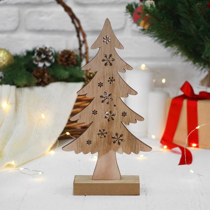 """Новогодний декор с подсветкой """"Новогоднее дерево"""""""