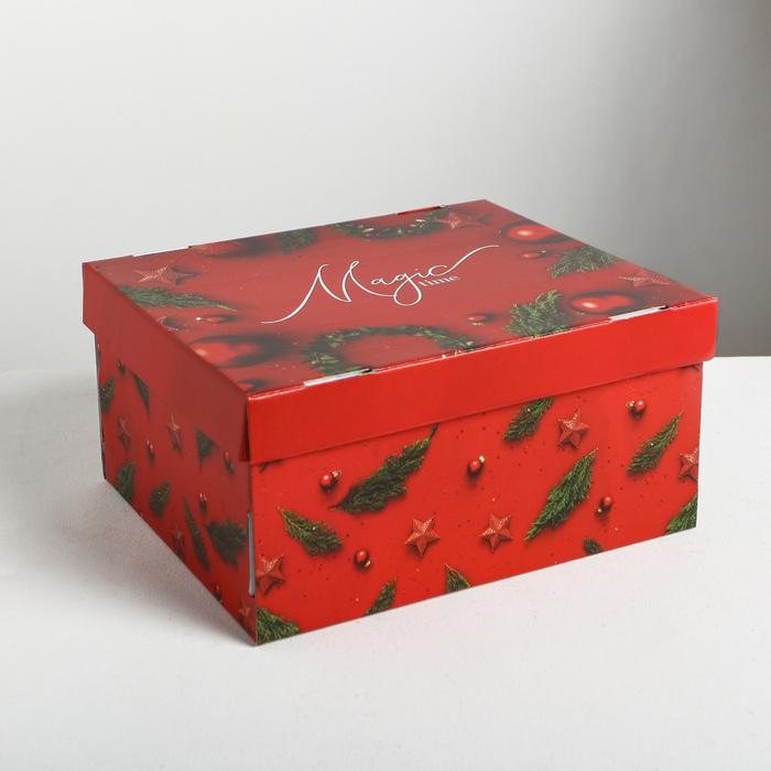 Складная коробка Magic time, 30 × 24.5 × 15 см