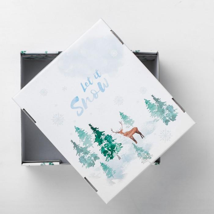 Складная коробка «Лесная сказка», 30 × 24.5 × 15 см
