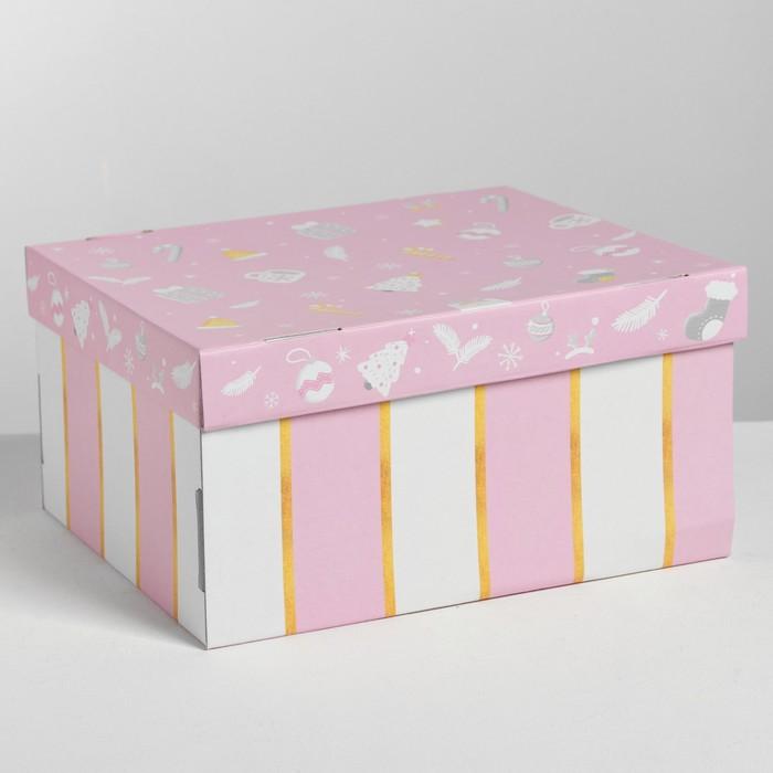 Складная коробка «Нежность», 30 × 24.5 × 15 см
