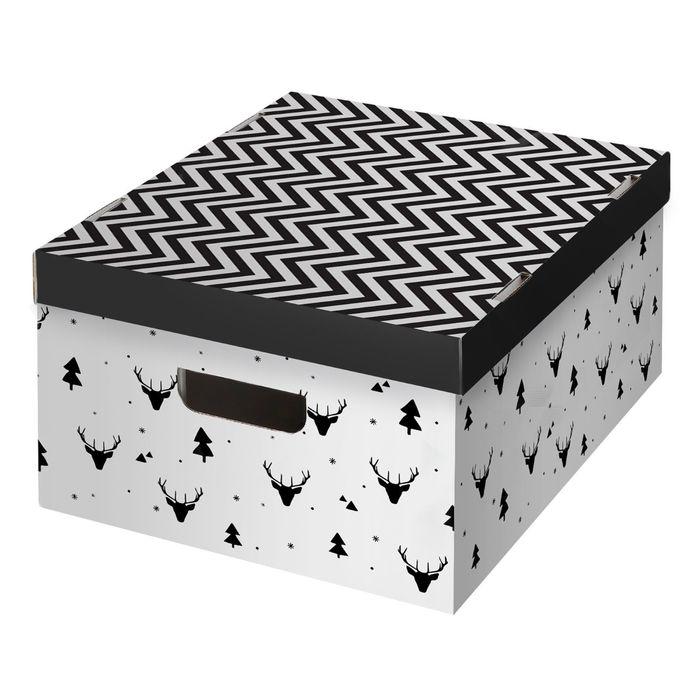Складная коробка «Уютный дом», 31,2 х 25,6 х 16,1 см