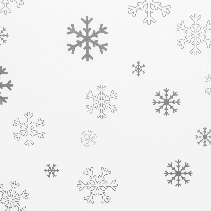 Складная коробка Let it snow, 31,2 х 25,6 х 16,1 см