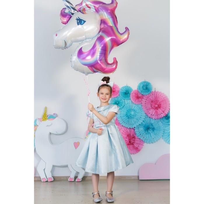 Платье нарядное для девочки MINAKU «Жаклин», рост 122 см, цвет голубой