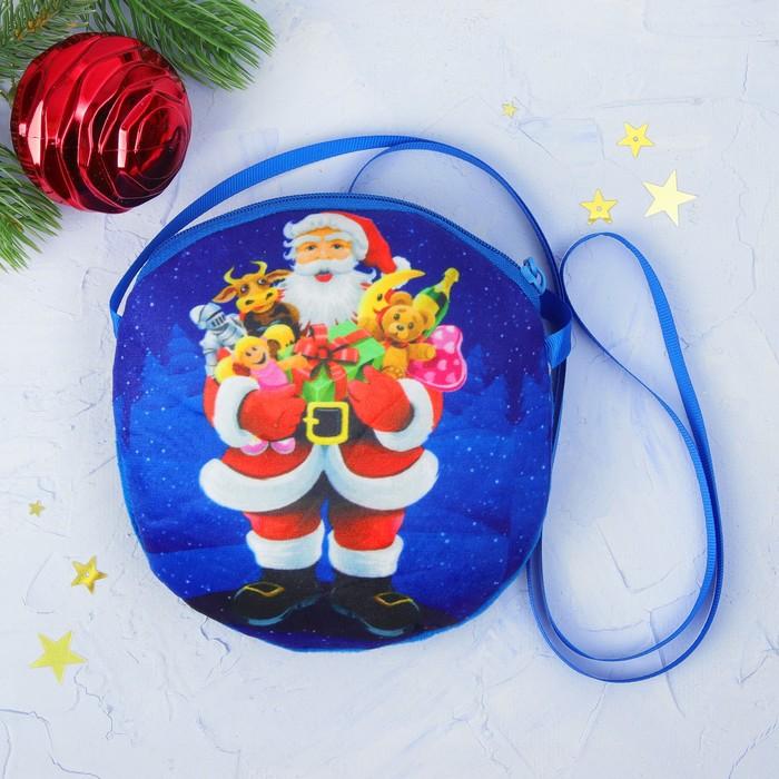 """Мягкая сумочка """"Новогодние подарки"""""""
