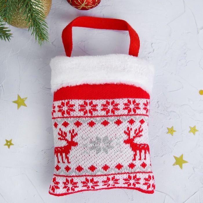 """Подарочная сумка """"Олени"""", 200 г"""
