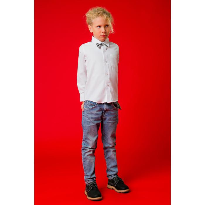 """Рубашка для мальчика """"Классическая"""", рост 146-152 см, цвет белый"""