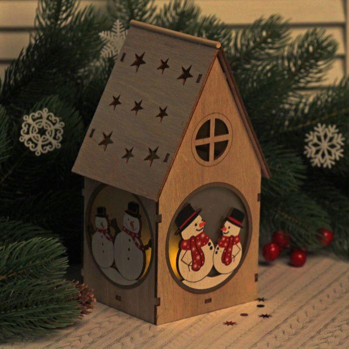 """Декор с подсветкой """" Новогодние гости"""""""