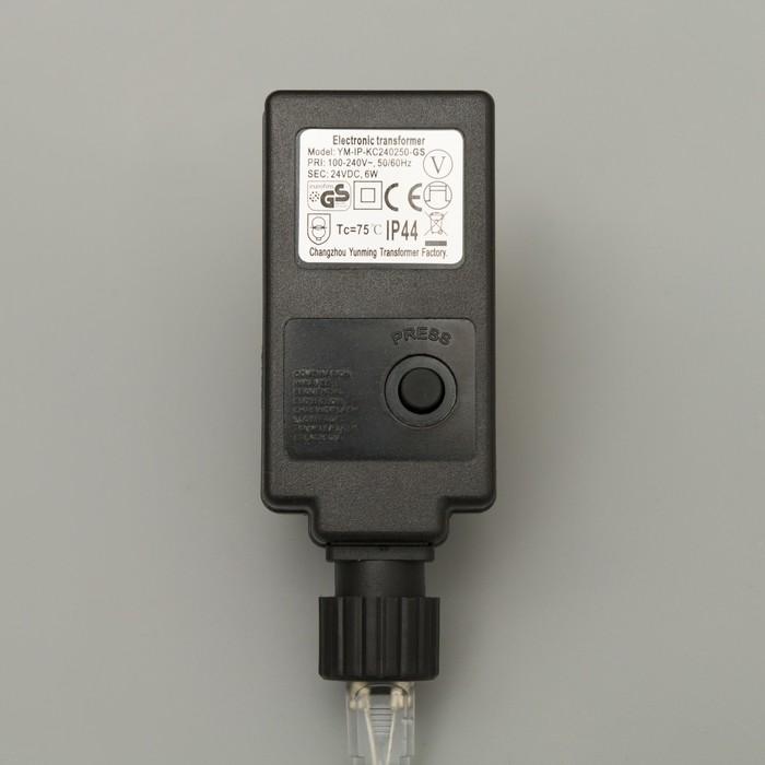 """Фигура акрил. """"Олень голова влево"""" 60х35х100 см, контр. низковольтный, 140 LED, 24V"""