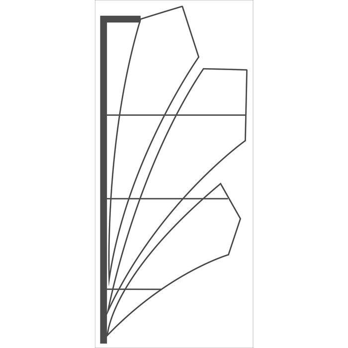 "Светодиодная консоль ""ТРИКОЛОР"", 1.5 х 0.65 м, led-шнур 10 м, 30 Вт, металлический каркас"