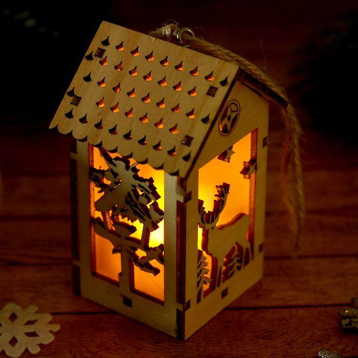 """Декор с подсветкой """"Чудеса в лесу"""""""