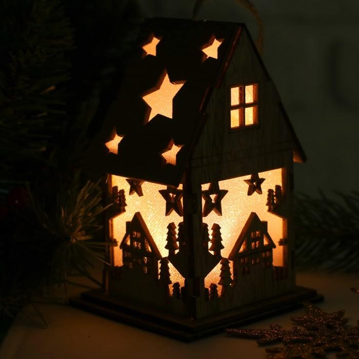 """Декор с подсветкой """"Зимняя ночь"""""""