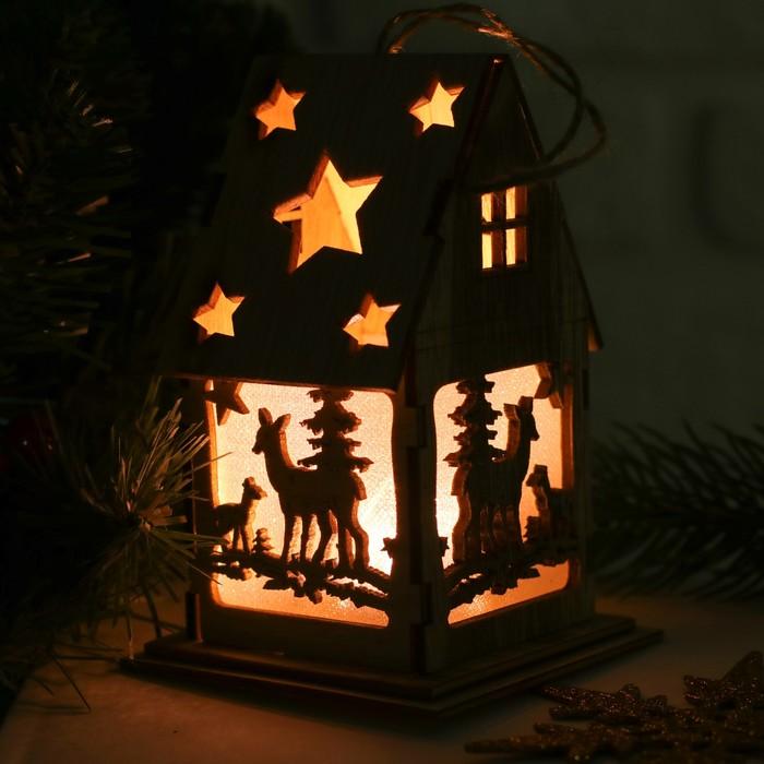 Декор с подсветкой «Лесные олени»