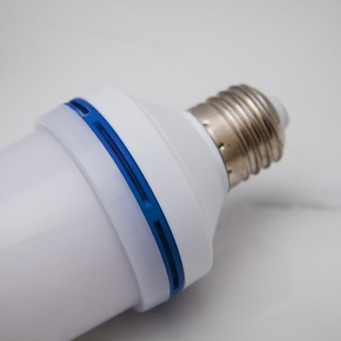 "Лампа ""Горящее пламя"", 3 режима, SMD2835, 96 LED, 7 Вт, 220 В, цоколь Е27"