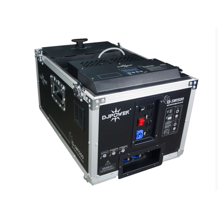 Генератор дыма DJPower X-SW1500, 1100 Вт, черный