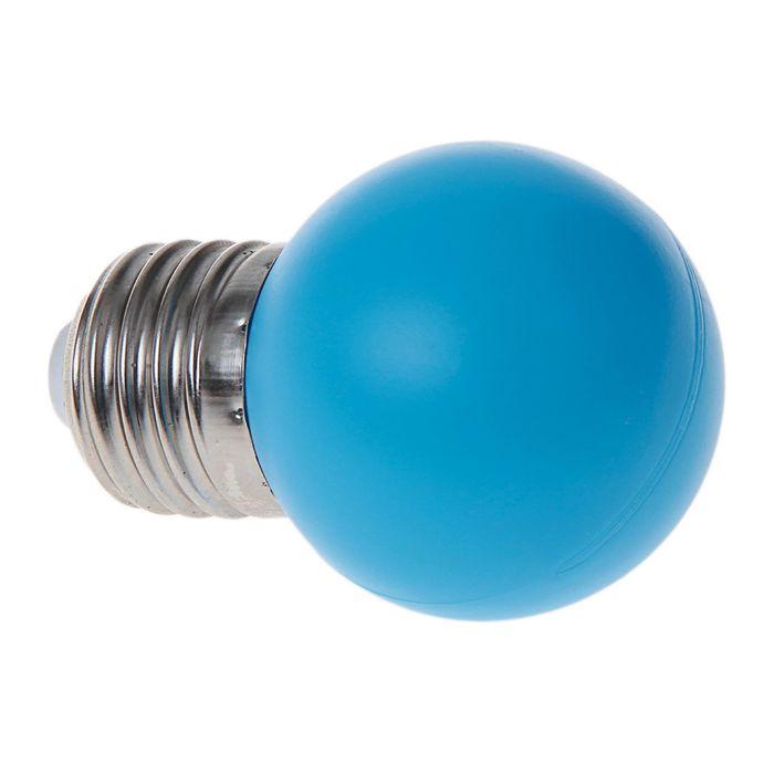 Лампа светодиодная декоративная, G45, 6 led SMD, для белт-лайта, синий, фасовка по 100 штук