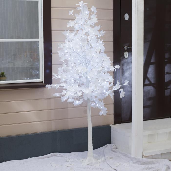 """Дерево светодиодное """"Клён белый"""", 1,8 м, 350 LED, 220 В, БЕЛЫЙ"""