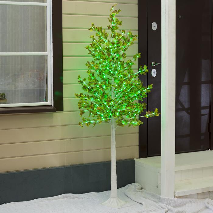 """Дерево светодиодное """"Клён зеленый"""", 1,8 м, 350 LED, 220 В, ЗЕЛЁНЫЙ"""