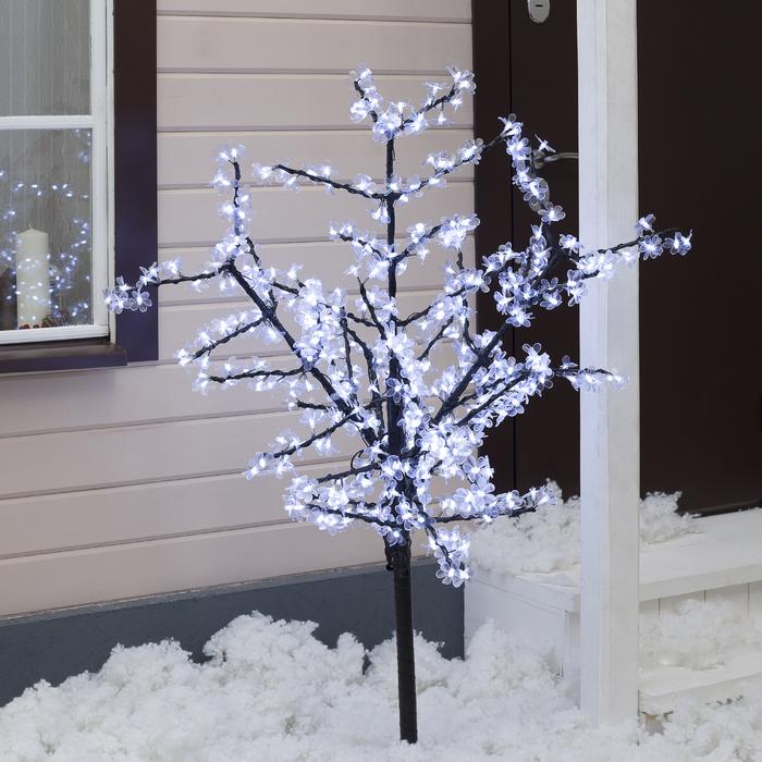 "Дерево светодиодное улич. 1,5 м. ""Баугиния"" 480Led, 30W, 220V Белый"